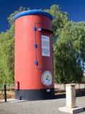 The Big Red Post box in Calvinia