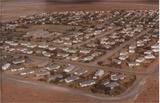 Aerial view of Copperton circa 1980