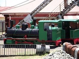 Retired Mine Locomotives
