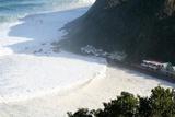 Storm swept Victoria Bay