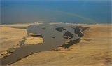 Kunene mouth from air