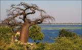 View from Ngoma border Botswana may 2016