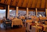 Dinning room at Mowani Mountain Camp