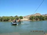 Sendelingsdrift Pont Across the River