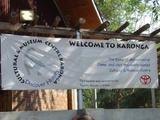 Karonga Museum during opening