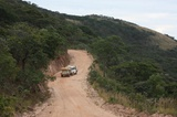 Beautiful road leading north out of Nyika