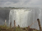 Victoria falls located close to the town centre