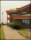Borderpost building-Chirundu