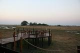 Viewing deck at Mukambi Plains Camp