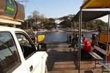 The ferry at Kazungula