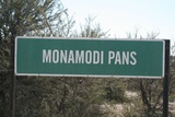 Monamodi Pan signboard