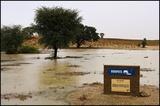 Rooiputs waterhole after rain