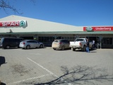 Spar & bottle store in town