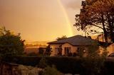 Summer sunset at Walkerbouts Inn - Rhodes