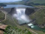 Dam at 100% capacity