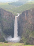 One of the highest single drop falls in Africa