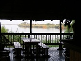 View of river from bar