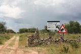 South entrance of Khaudum National Park