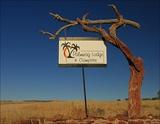 Palmwag signpost