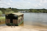 Boat of cruises on the Kavango River