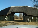 Entrance to Khama Rhino Sanctuary