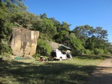 The campsite at Maleme Dam