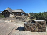Imbila lodge is perched on granite rocks, overlooking Maleme Dam