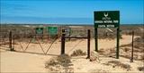 Gate southern  entrance Namaqua coastal section