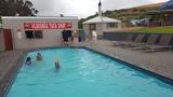 Cold water swimming pool & kiosk