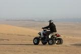 Quad bike on the dunes near Langstrand
