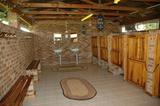 Spotless ablution facility