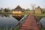 Chalets on Kwando river