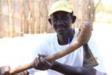 Traditional handmade axe