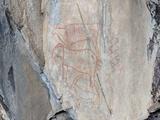 Savuti San rock paintings