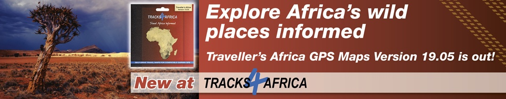 Welcome to Tracks4Africa