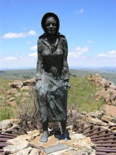 Image result for The barefoot woman voortrekker